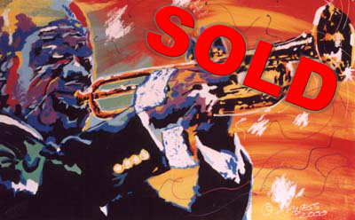 Satchmo - 24x36 - SOLD