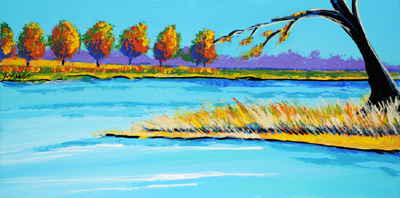 Rolling on the River - 18x36 - ?
