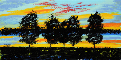River Sunset - 10x20 - ?