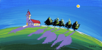 Church on the HIll - 10x20 - ?