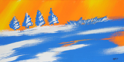 Winter Blue - 10x20 - ?