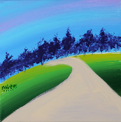 Road to Purple Tree - 12x12 - ?