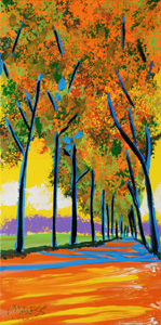 Autumn Path - 12x24 - ?