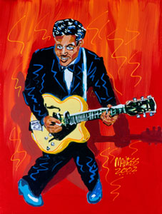 Chuck Berry - 16x20 - SOLD