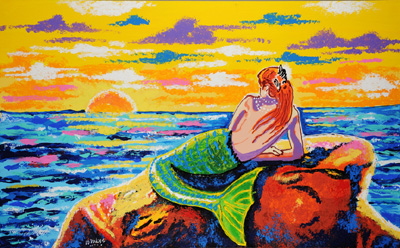 Mermaid - 30x48 - ?