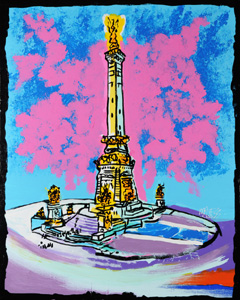 Monument Indy - 24x30 - ?