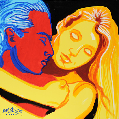 Lovers - 24x24 - SOLD