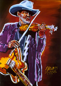 Gatemouth Brown - 18x24 - SOLD