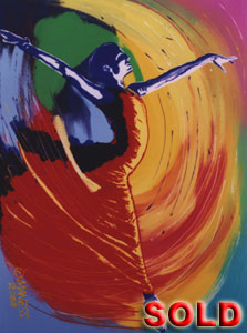 Freedom Ballet - 30x40 - SOLD