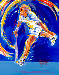 Agassi - 24x30 - SOLD