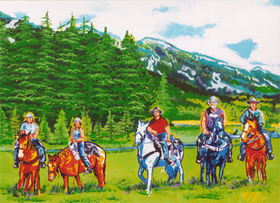 Montana Meadow - 30x40 - SOLD