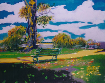 Tranquil Park - 16x20 - SOLD