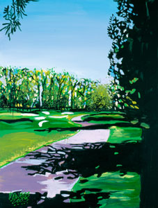 View to 4th Green at Southwind - 18x24 - SOLD