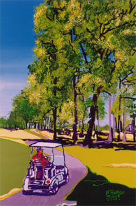 Southwind Morning Drive - 24x36 - SOLD