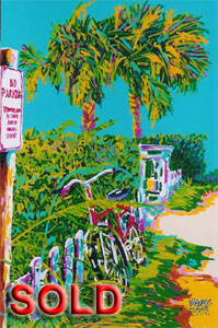 No Parking in Destin - 24x36 - SOLD