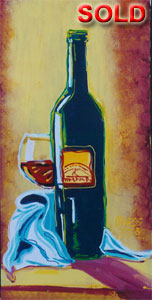 House Wine - 12x24 - SOLD