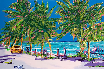 Taxi to Paradise - 24x36 - E-Mail Mike