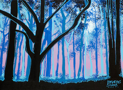 Snow White's Forest - 18x24 - SOLD
