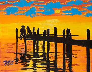 Buddies Dock - 16x20 - SOLD