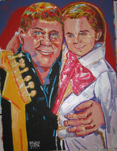Daly and Dad - 30x40 - SOLD