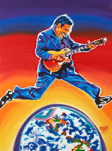 Luther 2007 Blues Music Awards Print - 30x40 - SOLD