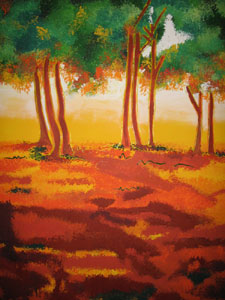 Mystic Grove (L) - 36x48 x2 - SOLD