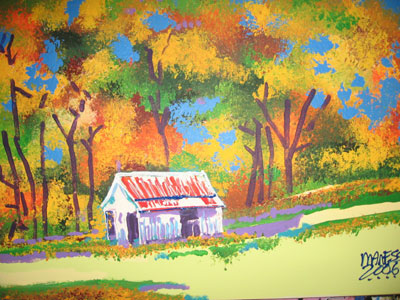 White Barn - 20x24 - SOLD