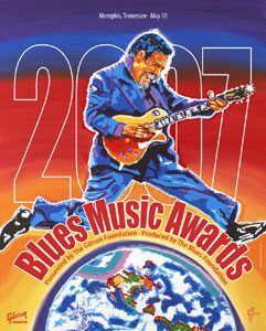 Blues Music Awards 2007<br>Official Poster - ? - SOLD