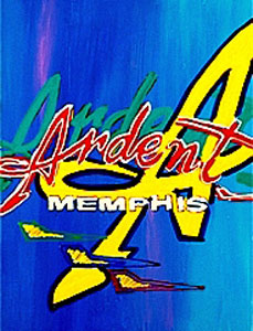Memphis Music Labels - Ardent - 18x24 - SOLD