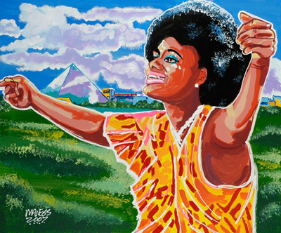 GEE WHIZ<br>Carla Thomas - 30x36 - SOLD
