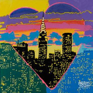 NYC Heart - 24x24 - SOLD