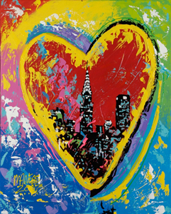 Heart of New York - 24x30 - SOLD