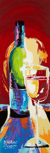 The Shadow of Your Wine - 12x36 - ?