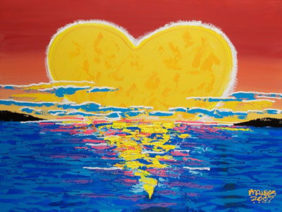 Heart Rising - 30x40 - SOLD