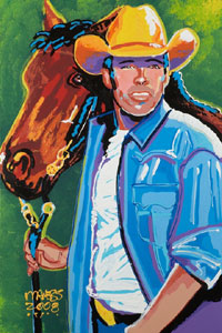 Cowboy, Clay Walker - 24x36 - SOLD