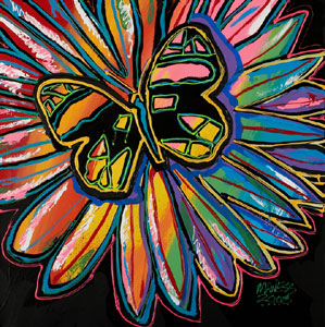 Nature's Kaleidoscope - 24x24 - SOLD