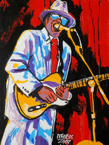 Chicago Blues - 16x24 - ?