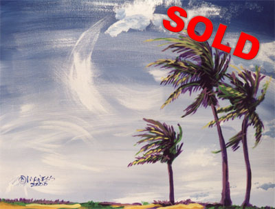 Cayman Wind - 16x20 - SOLD