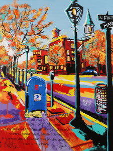 My Town - 30x40 - SOLD