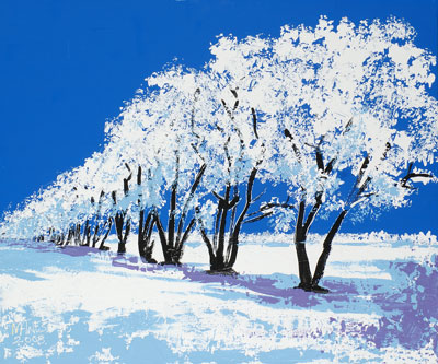 Winter Grove - 20x24 - SOLD