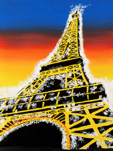 The Eiffel Tower of Love - 30x40 - ?