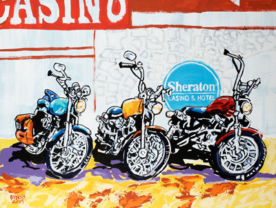 Sheraton's 3 of a Kind - 36x48 - ?
