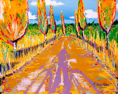 Road to Utopia - 24x30 - SOLD