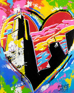 Heart of Chicago - 24x30 - SOLD