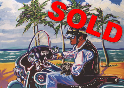 Key West Ride - 30x40 - SOLD