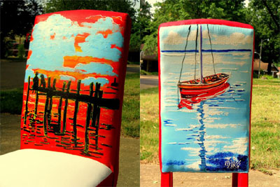 Dock of the Bay (Chair) - n/a - SOLD