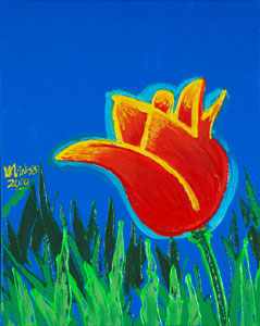 Yellow and Red Tulip - ? - ?