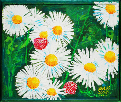 Daisies (Framed) - 20x24 - SOLD