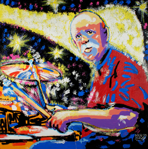 Butch Trucks - 36x36 - SOLD