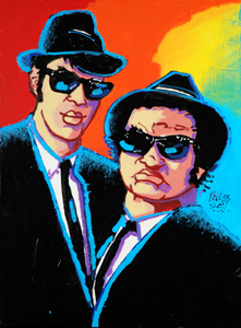 Blues Brothers - 18x24 - SOLD